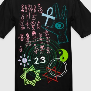 SPIRITUAL GRAFFITI 222x - Men's Tall T-Shirt