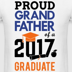 Class of 2017 Proud GrandFather Graduation T-Shirts - Men's T-Shirt