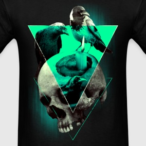 Skull + Crows T-shirt - Men's T-Shirt