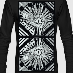 LIGHT OF THE LIZARD HAND 9 - Men's Long Sleeve T-Shirt by Next Level