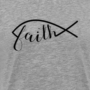 Faith in Jesus - Men's Premium T-Shirt