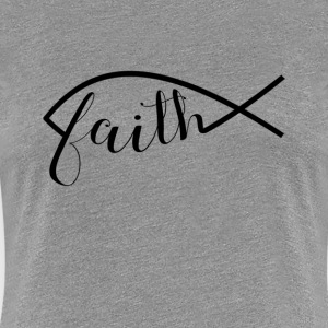 Faith in Jesus - Women's Premium T-Shirt