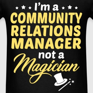 Community Relations Manager - Men's T-Shirt
