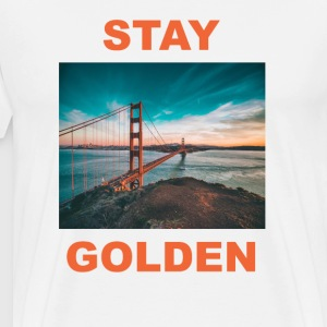 Stay Golden T-Shirts - Men's Premium T-Shirt