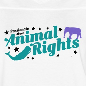Animal Rights design - Women's Vintage Sport T-Shirt