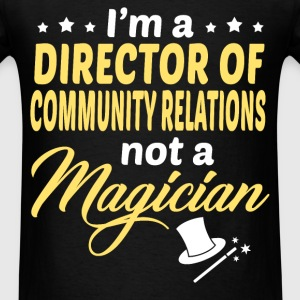 Director of Community Relations - Men's T-Shirt