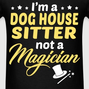 Dog House Sitter - Men's T-Shirt