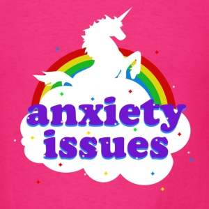 Anxiety Issues - Men's T-Shirt