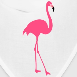 Original Elegant Beauty cute pink flamingo bird Caps - Bandana