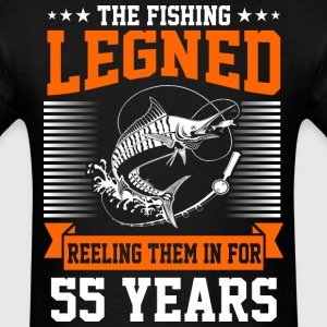 The Fishing Legend Reeling Them In For 55 Years - Men's T-Shirt