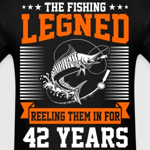 The Fishing Legend Reeling Them In For 42 Years - Men's T-Shirt