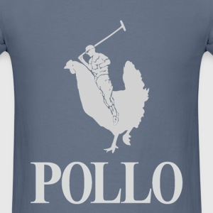 Pollo silver - Men's T-Shirt