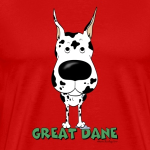 Big Nose Great Dane - Men's Premium T-Shirt