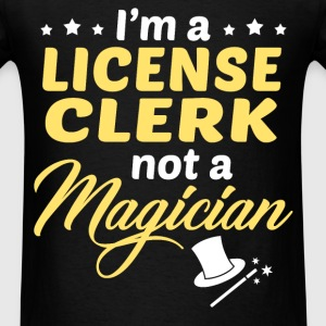 License Clerk - Men's T-Shirt