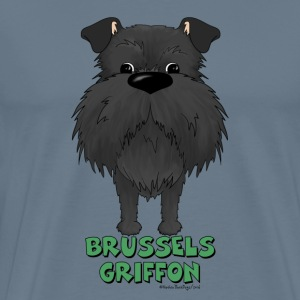 Big Nose Brussels Griffon - Men's Premium T-Shirt