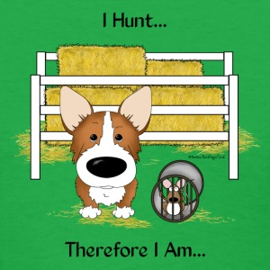 Pembroke Welsh Corgi Barn Hunt - Women's T-Shirt