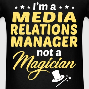 Media Relations Manager - Men's T-Shirt