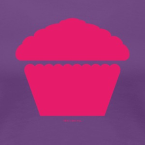 New Girl Jess Cupcake Muffin - Women's Premium T-Shirt