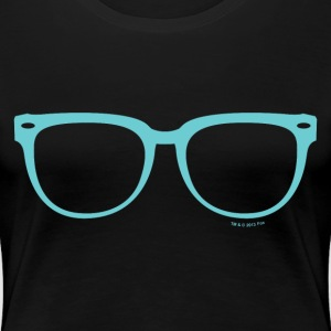 New Girl Jess Glasses - Women's Premium T-Shirt
