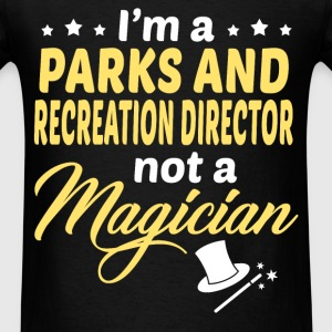 Parks and Recreation Director - Men's T-Shirt