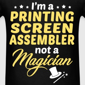 Printing Screen Assembler - Men's T-Shirt