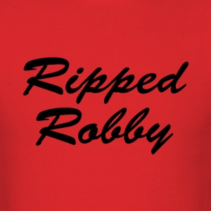 Red Ripped Robby Tee - Men's T-Shirt