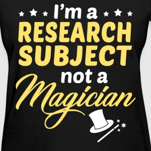 Research Subject - Women's T-Shirt