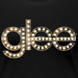 Glee Logo Lettering Stage Lights - Women's Premium T-Shirt