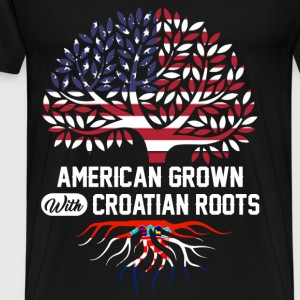 croatian roots.png T-Shirts - Men's Premium T-Shirt