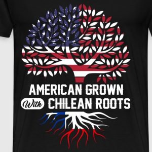chilean roots.png T-Shirts - Men's Premium T-Shirt