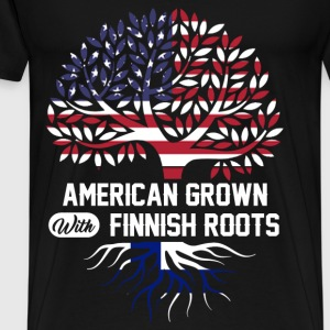 finnish roots.png T-Shirts - Men's Premium T-Shirt