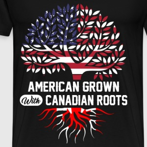 canadian roots.png T-Shirts - Men's Premium T-Shirt