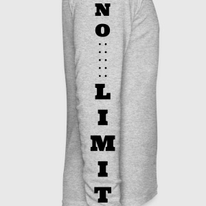 No Limit Shirt - Men's Long Sleeve T-Shirt by Next Level
