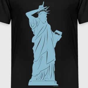 Glee Statue Of Liberty Gesture - Toddler Premium T-Shirt