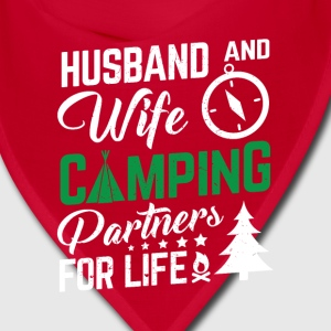Husband and wife camping Caps - Bandana