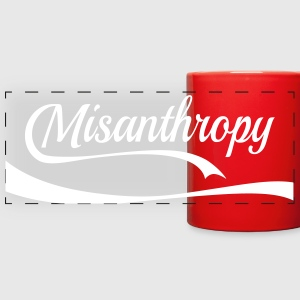 misanthropy Mugs & Drinkware - Full Color Panoramic Mug