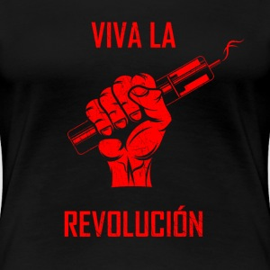 vape revolution - red T-Shirts - Women's Premium T-Shirt