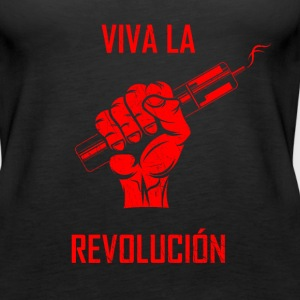 vape revolution - red Tanks - Women's Premium Tank Top