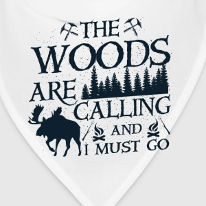 The woods are calling Caps - Bandana