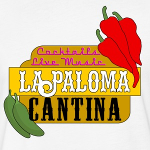 La Paloma Cantina - Fitted Cotton/Poly T-Shirt by Next Level