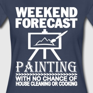 WEEKEND FORECAST PAINTING - Women's Premium T-Shirt