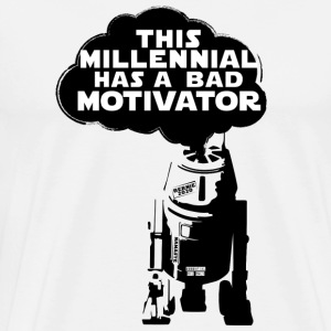 Bad Millennial Motivator - Men's Premium T-Shirt
