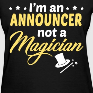 Announcer - Women's T-Shirt