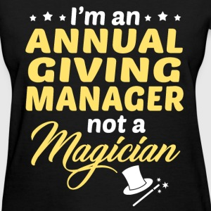 Annual Giving Manager - Women's T-Shirt