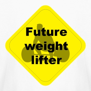 Future weight lifter - Kids' Long Sleeve T-Shirt