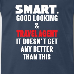 Travel agent clothes, Travel agent tshirt, Travel  - Men's Premium T-Shirt