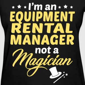 Equipment Rental Manager - Women's T-Shirt