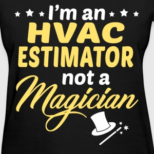 hvac estimator womens t shirt. Resume Example. Resume CV Cover Letter