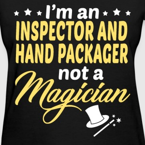 Inspector And Hand Packager - Women's T-Shirt