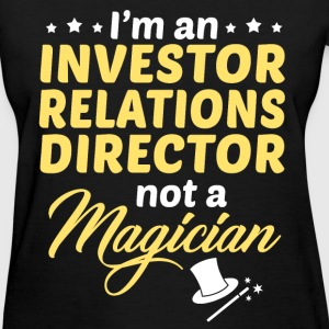 Investor Relations Director - Women's T-Shirt